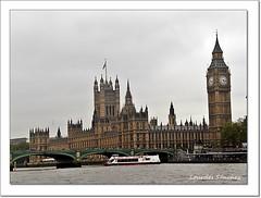 Palacio de Westminster  y Big Ben -Londres (Lourdes S.C.) Tags: ríotámesis puentedewestminster palaciodewestminster bigben torredelreloj londres london reinounido inglaterra