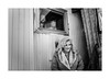 Grandparents (Jan Dobrovsky) Tags: grandparents countryside leicaq carnies monochrome přelouč caravan people reallife blackandwhite wedding countrylife village carny document