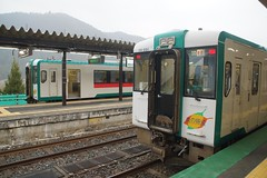 DSC09815 (Alexander Morley) Tags: japanese railways japan trains jr east rikuu line naruko onsen