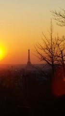 532 Paris en Février 2018 - rue Piat, Belvédère de Belleville (paspog) Tags: paris france ruepiat belvédèredebelleville février february februar 2018 sunset coucherdesoleil