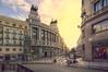 (178/18) Antigua sede el BBVA en Madrid (color) (Pablo Arias) Tags: pabloarias photoshop photomatix capturenxd españa cielo nubes arquitectura carretera coche vehículo moto edificio banco madrid