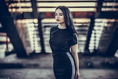 Anna (Vagelis Pikoulas) Tags: portrait woman women girl girls model beautiful beauty canon 6d sigma 85mm art f14 athens greece blur bokeh 2018