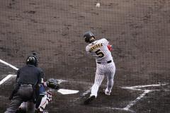 #5 NISHIOKA (yukky89_yamashita) Tags: npb 阪神甲子園球場 阪神 タイガース baseball ballpark japan nishinomiya 西岡剛