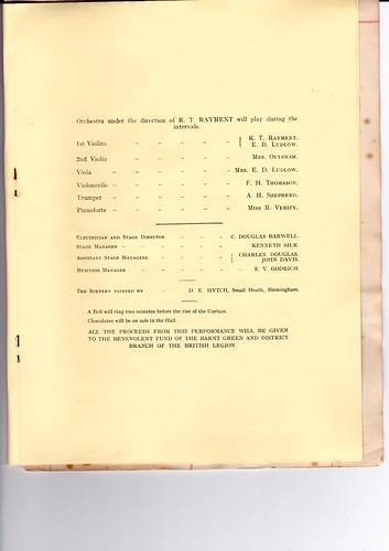 1931: Nov Programme 5