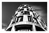 London building... (mariolka3) Tags: city monochrome blackwhite bw tripod ndfilter nd longexposure cloudsmovement clouds sky modernarchitecture architecture london