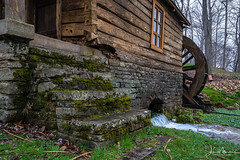 Reed Springs Mill (Wits End Photography) Tags: mill moss steps missouri nature water staircase architecture stream ozarks brook creek ditch green river trickle