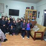 Alumnos de la Escuela Aurora de Chile logran destacada participación en visita solidaria a hogar de ancianos