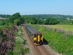 150246  Trewedna Lane, Perranwell (Marky7890) Tags: gwr 150246 class150 sprinter 2f85 trewednalane perranwell railway cornwall maritimeline train