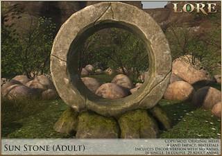 {LORE} Sun Stone Adult