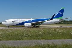 Tassili / B738 / 7T-VCA / LFRS (_Wouter Cooremans) Tags: nte nantes spotting spotter avgeek aviation airplanespotting tassili b738 7tvca lfrs