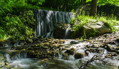 Water Flowing (panos_adgr) Tags: sony a6000 greece macedonia pozar loutra colour nature water leaves travel