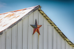 Barn Star (Mike Matney Photography) Tags: 2018 americana canon eost5 illinois june midwest troy barn