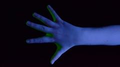 (josie.bell) Tags: blue hand green lighting black colour strech