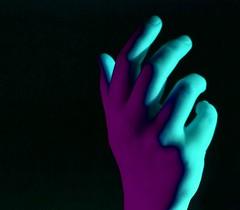 (josie.bell) Tags: blue puple black shadows colour lighting hand fingers