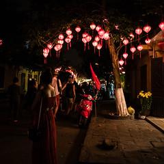 [Vietnam, Hoi An] Red dress (Paul Bergot) Tags: vietnam tet hagiang roads vietnamese asia southeastasia chinesenewyear asian roadtrip road celebration hardwork field fields outdoor city night hanoi nightphotography