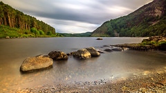Llyn Geirionydd (Mark Palombella Hart) Tags: cymru landscape hills trees mountains june summer tourism rocks