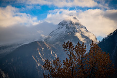 Fog over the peaks surrounding Lachung, Sikkim (CamelKW) Tags: sikkimindia2018 lachung sikkim india in