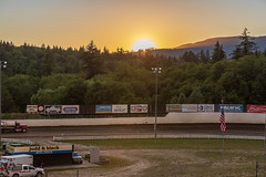 2018 Sportsman Sprint Shootout (✈ Joe's Pictures & Stuff ✈) Tags: sprintcars dirttrack dirttrackracing dirtoval dirt skagitspeedway 360 sprints 360sprints sportsmansprints shorttrackracing sunset