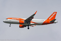 G-EZRP - 2018 build Airbus A320-214, on approach to Runway 23R at Manchester (egcc) Tags: 8068 a320 a320214 airbus egcc ezy gezrp lightroom man manchester ringway sharklets u2 easyjet