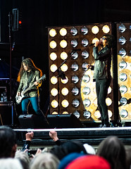 Mike Inez & William DuVall of Alice in Chains @Gröna Lund, Stockholm (hakandincer1) Tags: live music rock grunge alice chains aliceinchains stockholm gröna lund performance stage lights motion musician