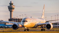 A6-BLO (tynophotography) Tags: etihad airways 7879 a6blo dreamliner 787 789 boeing sunset