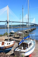 SQ2-3 Boats at Port Edgar & The Queensferry Crossing (timonrose1) Tags: portedgar southqueensferry queensferrycrossing riverforth yacht