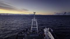 Frosty sunrise - Gerlache Strait, West Antarctic Peninsula (alejandro.romangonzalez) Tags: britishantarcticsurvey rrsjamesclarkross antarcticpeninsula antarctica landscape seascape research ship coast glacier sunrise