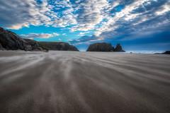 Sand Storm at the Beach (Manuela Durson) Tags: storm sand wind windy stormy sandstorm beach oregon bandon clouds cloudscape seascape dramatic landscape nature