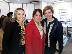 08/06/18 - Esteio/RS: entrega de maquinário com Governador Sartori para diversos municípios gaúchos. Com a vice-prefeita de Três Cachoeiras, Alzira Scheffer.
