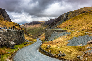 Road to Buttermere via Honister Pass.
