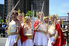 Mermaid Parade 2018 (Samicorn) Tags: nikon brooklyn mermaid costume parade summer june nyc newyorkcity boardwalk coneyisland sunny festival glitter shiny gothamist mermaidparade brokelyn shera princessofpower timeout