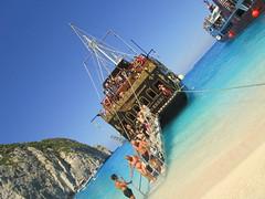 IMG_1120 (SyrianSindibad) Tags: greece zakynthos navagiobeach shipwreckbeach smugglerscove