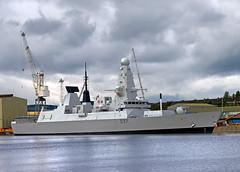 D37-HMS-Duncan-(2) (norriemacloud) Tags: scotland glasgow riverclyde bae yarrows shipbuilding hmsduncan d37