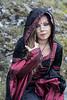 Lucia Pellegrini - Druidessa (elparison) Tags: druid gothic celtic abruzzo blueyes pretty tatoo makeup