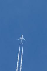 20180328_6533_7D2-600 ZK-OXA overhead at 36,000 feet (FL36) (johnstewartnz) Tags: canon canonapsc apsc eos 7d2 7dmarkii 7d canon7dmarkii canoneos7dmkii canoneos7dmarkii 600mm 600 canon600mmf4 ef600mmf4lis 600mmf4 plane aircraft airnewzealand airbus airbusa320 a320 a320232 contrail