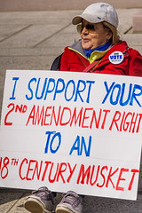 Musket (Chris Protopapas) Tags: sony protest march nra musket guncontrol sign dc washington parkland washingtondc