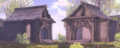 Stall WIP (Dani @ Birdy/Foxes/Alchemy) Tags: sl secondlife alchemy ~alchemy~ fantasy mesh building