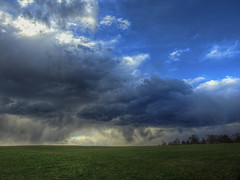 April shower (Claude@Munich) Tags: germany bavaria upperbavaria egling deining hornstein sky clouds weather aprilshower shower april claudemunich bayern oberbayern himmel wolken regenwolken aprilschauer schauer regen wetter