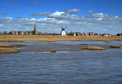View of Lytham (Tony Worrall) Tags: britain english british gb capture buy stock sell sale outside outdoors caught photo shoot shot picture captured england regional region area northern uk update place location north visit county attraction open stream tour country welovethenorth resort northwest town lancs lancashire fylde fyldecoast coastal seaside seashore lytham lythamstannes beach wet water sea windmill scene landscape beauty shore waves