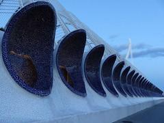 OOOoooo... (Anke knipst) Tags: lumbracle valencia mosaik mosaique blau blue ciudaddelasartes