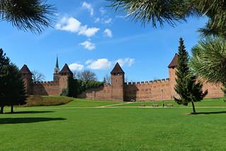Nymburk, city walls