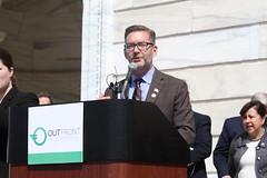 Senator Dibble at LGBTQ Lobby Day