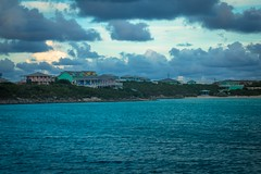The Blackpoint settlement near Great Guana Cay.