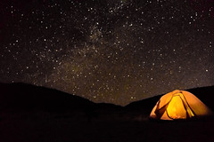 Camping under the Stars! (Rainy Day Lover) Tags: baja espiritusanto experientiallearning kayaking camping stars starlight night nightsky tent