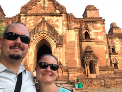 Myanmar-20180324-0080 (ShaneAndRobbie) Tags: mandalayregion myanmarburma mm myanmar burma shane robbie selfie bagan pagoda temple baganarchaeologicalzone baz dhammayangyi