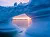 Disko Bay (dawvon) Tags: greenlandsea greenland landscape sunset nature water nordic aerial bluehour magichour midnightsun ilulissat drone ocean sunrise travel arcticcircle twilight qaasuitsup diskobay seascape atlanticocean europe iceberg arcticocean dawn diskobugten dusk goldenhour grønland halflight jacobshaven jakobshavn kalaallitnunaat qaasuitsupkommunia qeqertarsuuptunua sea qaasuitsupkommune gl