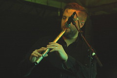 Torupilli Jussi Trio (2018) 08 - Finlay MacDonald (guest) (KM's Live Music shots) Tags: worldmusic greatbritain scotland finlaymacdonald torupillijussitrio lowwhistle whistle celticconnections latenightsessions drygatebrewery