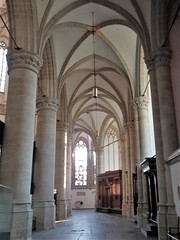 Vaulted south aisle, Grote Kerk, Dordrecht, Netherlands (Paul McClure DC) Tags: dordrecht dordt netherlands feb2018 southholland nederland thenetherlands architecture historic church
