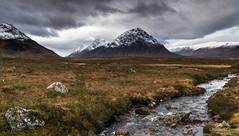 The great herdsman of Etive. (lawrencecornell25) Tags: landscape scenery scotland scottishhighlands buachailleetivemor mountains snow winter nature outdoors glenetive glencoe nikond5