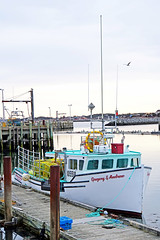 NS-00030 - Gregory & Andrew (archer10 (Dennis) 146M Views) Tags: fishing harbour boatssony a6300 ilce6300 village 18200mm 1650mm mirrorless free freepicture archer10 dennis jarvis dennisgjarvis dennisjarvis iamcanadian novascotia canada clarksharbour capesableisland gregoryandrew lobster traps wharf boats boat